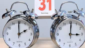 Sommerzeit: In der Nacht auf Sonntag wurden die Uhren um 2.00 Uhr um eine Stunde auf 3.00 Uhr vorgestellt. (Symbolbild)