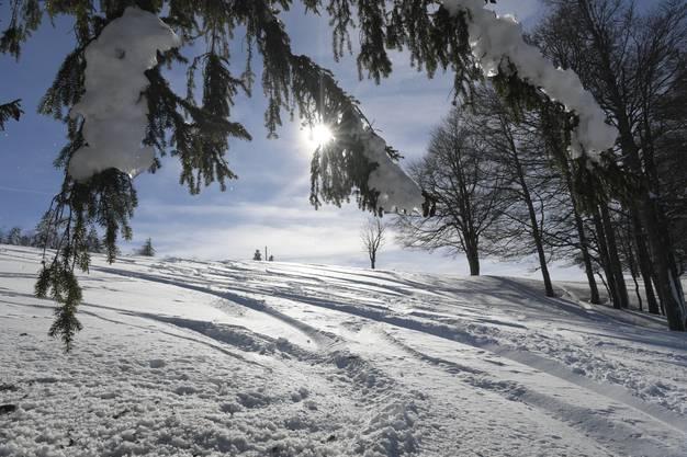 Zauberhafte Winterstimmung.