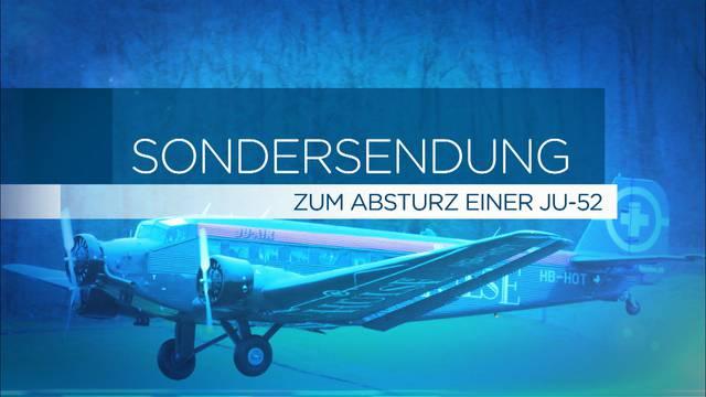 Absturz der «Tante Ju»: Die Kapo Graubünden informiert
