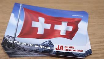 Auch die Aargauer sagten Ja zum Steuerdeal.