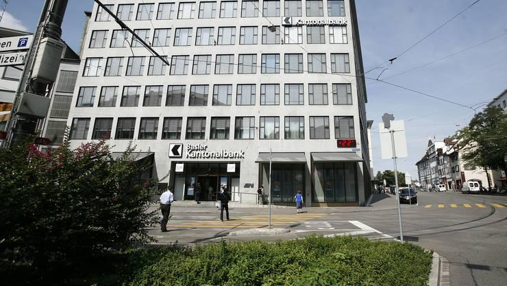 Glänzendes Ergebnis: Hauptsitz der BKB in Basel.