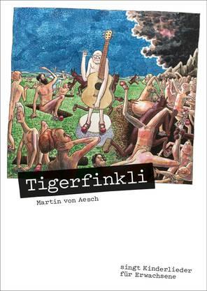 Das Album-Cover von «Tigerfinkli».