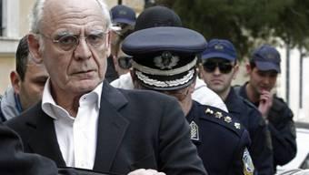 Der in der Affäre schon verurteilte Ex-Minister Tsochatzopoulos