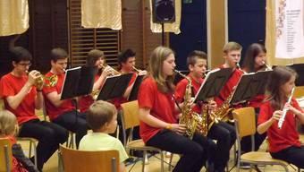 Ein Garant für grossartige musikalische Leistungen: die Jugendmusik Oberes Fricktal.