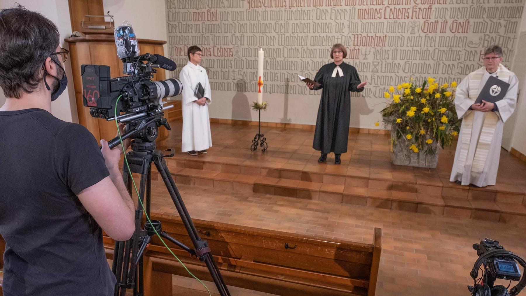 Der Ostergottesdienst der Luzerner Landeskirchen auf Tele 1