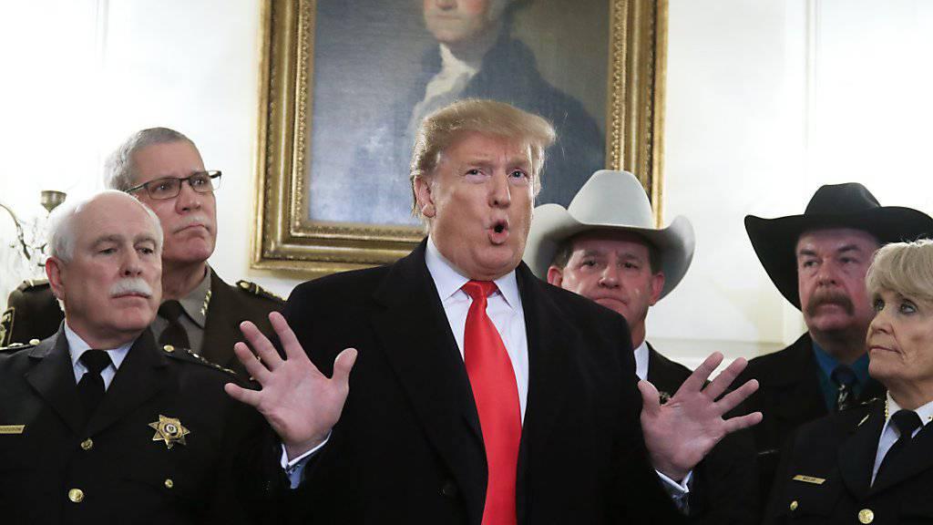 «40 Jahre des Versagens»: US-Präsident Donald Trump kritisiert die iranische Führung zum 40. Jahrestag der Islamischen Revolution scharf.