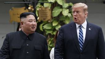 Nordkoreas Machthaber Kim Jong Un will einem dritten Gipfeltreffen mit US-Präsident Donald Trump nicht ausweichen. (Archivbild)