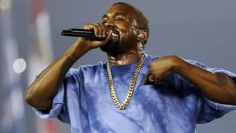 Kanye West ist der Meinung, dass seine Ideen eine Milliarde Dollar wert sind und bietet Mark Zuckerberg einen entsprechenden Deal an (Archiv).