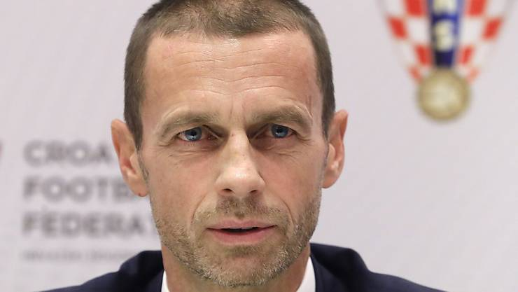 UEFA-Präsident ALeksander Ceferin setzt sich für klare Spielregeln ein