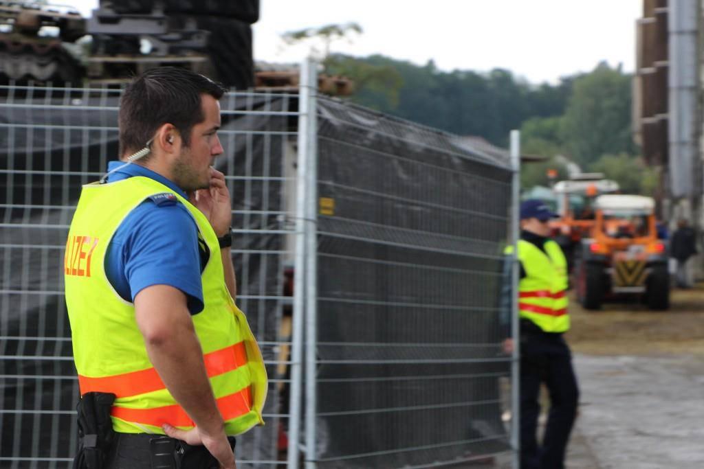 Evakuierung in Hefenhofen