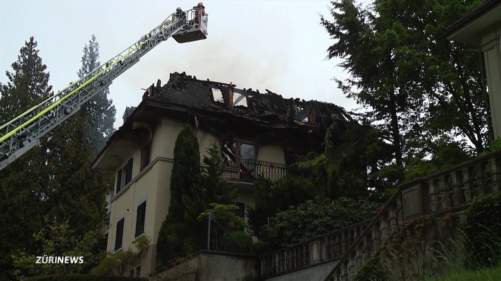 Zwangsräumung einer Villa am Zürichberg endet in Suizid