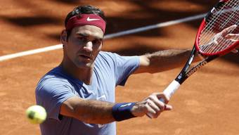 Weltnummer zwei bezwungen: Roger Federer siegt in Rom 6:3, 7:5.