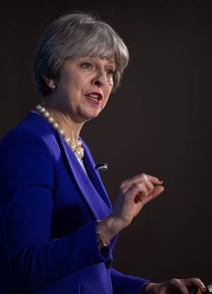 Theresa May: Als wäre die Regierungskrise nicht schon genug.