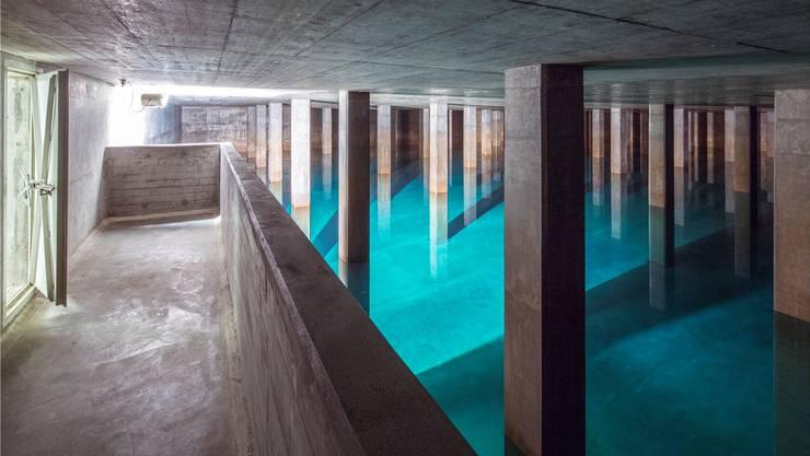Von der SP bis hin zur BDP sehen Kantonsräte den Grundsatz, wonach Wasser Allgemeingut ist, in Gefahr. Im Bild das Reservoir Lyren der Wasserversorgung Zürich.