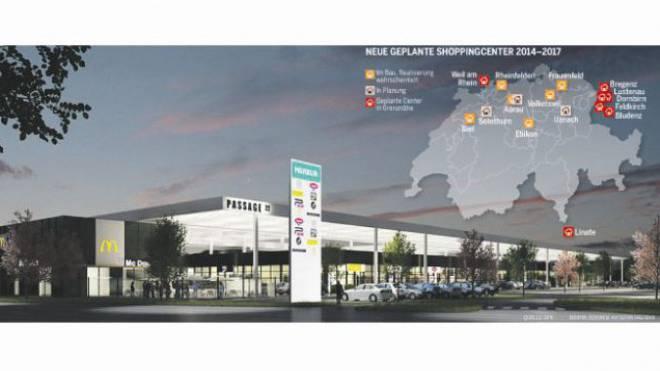 Soll 2015 eröffnet werden: Einkaufszentrum Passage 22  in Feldkirch.
