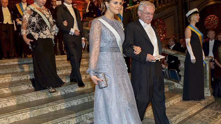 Prinzessin Madeleine mag das Scheinwerferlicht nicht besonders - hier bei der Nobelpreisverleihung.