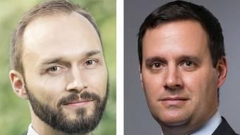 Christian Fischbacher (SP) und Daniel Peyer (CVP)