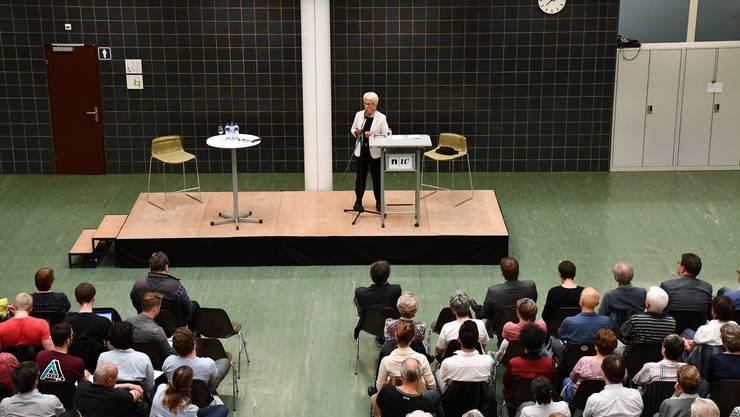 Das Referat von Carla Del Ponte war auch für die Verantwortlichen der FHNW ein Highlight.