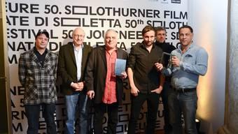 """«Soirée de clôture»: die Jury und die Preisträger des """"Prix de Soleure"""" und die Preisträger des """"Prix du publique"""""""