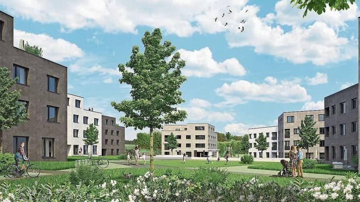 Mit dem Projekt «In den Matten» sollten in neun Häusern 162 Wohnungen entstehen.