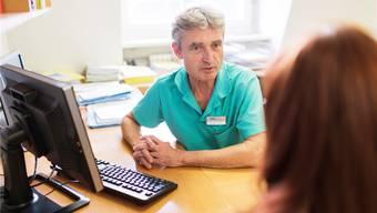 Viele Ärzte erfassen die Patientendaten bereits heute elektronisch.