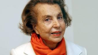 Liliane Bettencourt dürfte vor einer Anklage sicher sein (Archiv)