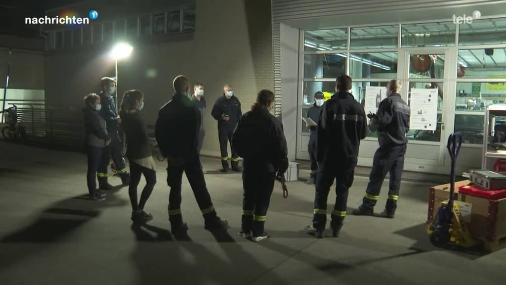 Stadt Zug nimmt Notfalltreffpunkte in Betrieb