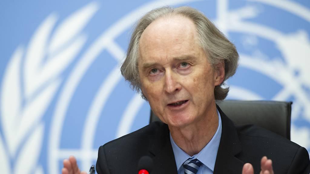 UN-Gesandter will Verfassungsgespräche in Syrien voranbringen