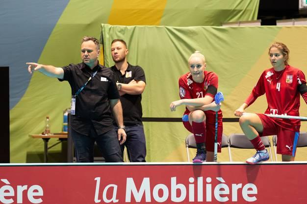 Sascha Rhyner denkt, dass das Halbfinale zwischen «seinen »Tschechinnen und der Schweiz eine ausgeglichene Angelegenheit wird.