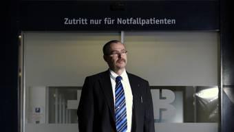 CEO des Kantonsspitals Baden Dieter Keusch.