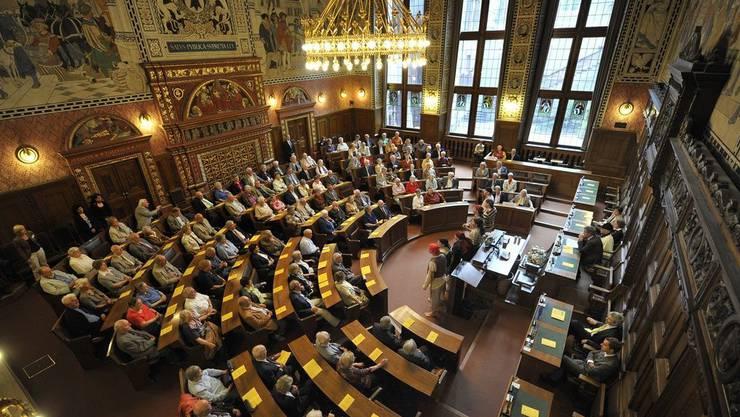 Zum ersten Mal seit 100 Jahren darf der Grosse Rat nicht in seinem altehrwürdigen Saal tagen.