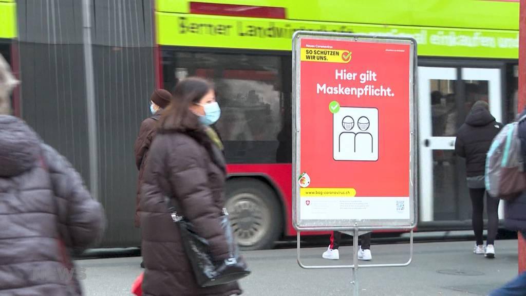 Bussen statt Anzeigen: Bis zu 300 Franken Busse für Masken-Muffel