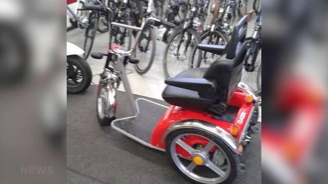 Dieb klaut Behindertenfahrzeug einer Toten