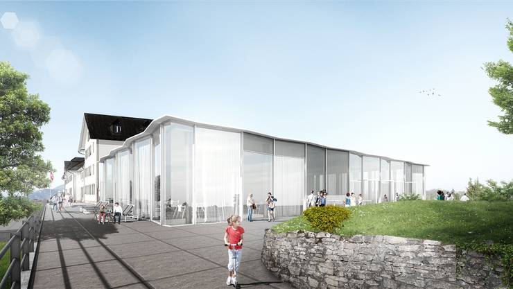 Gegen das Baugesuch für den Um- und Neubau des Kurhauses Weissenstein gab es Einsprachen.
