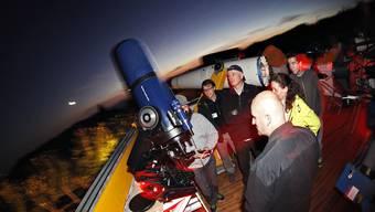 Nacht des offenen Daches in der Jurasternwarte in Grenchen
