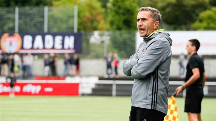 Baden-Trainer Ranko Jakovljevic würde das Kader im Sommer gerne noch verstärken.