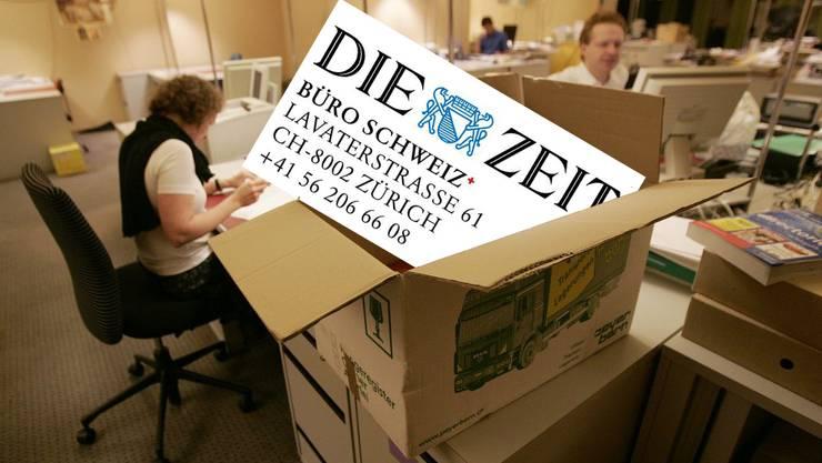 Während sieben Jahren arbeitete die Redaktion der Schweiz-Seiten der Wochenzeitung «Die Zeit» an der Kronengasse in Baden. (Symbolbild)