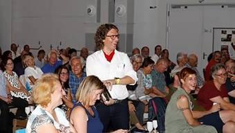 Daniel Cortellini ist das Lachen trotz schmerzhafter Entzündung nicht vergangen.