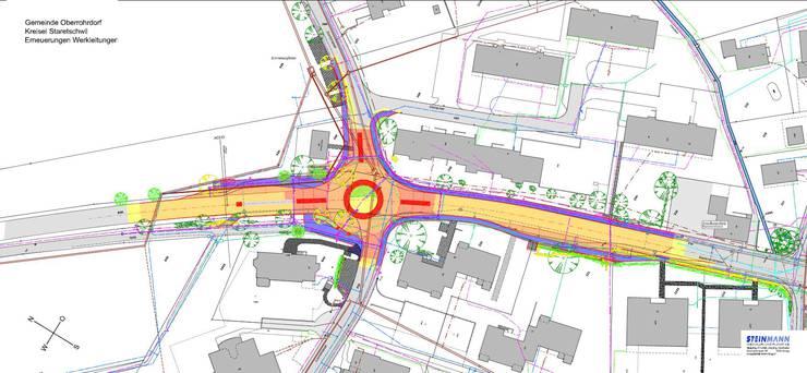 Plan des neuen Kerisels Staretschwil in Oberrohrdorf.