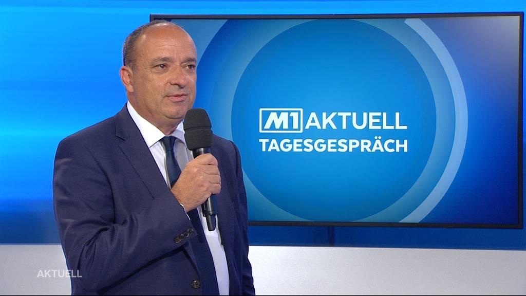 Finanzdirektor Markus Dieth über das Aargauer Budget 2021