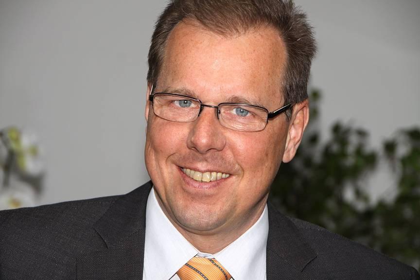 Huber+Suhner-CEO Urs Kaufmann, Bild: Huber+Suhner
