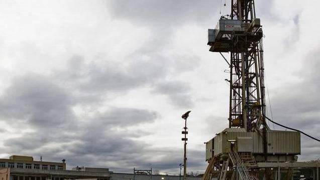 Bohrturm der gescheiterten Geothermie-Bohrungen in Basel (Archiv)