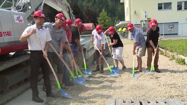 Bauprojekt für das neue Gemeindeshaus Trubschachen