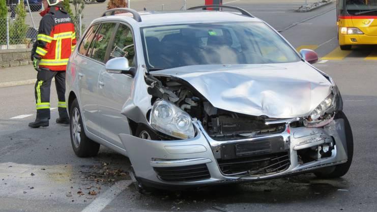 Die beiden Fahrer blieben unverletzt