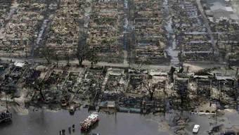 New York nach dem Sturm Sandy
