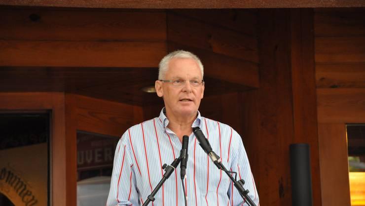 Gemeindepräsident Chris Linder: «Freiheit bedeutet, sich seine Lebenserfahrungen nach eigenem Gutdünken anzueignen – auch auf eigene Gefahr – und sie zu teilen.»
