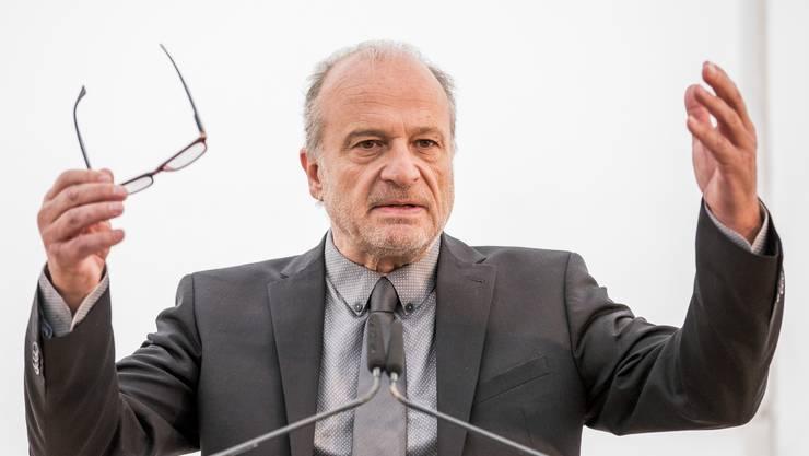 Filippo Leutenegger (FDP) wird gegen seinen Willen versetzt: Der heutige TED-Vorsteher muss ins Schul- und Sportdepartement wechseln. (Archivbild)