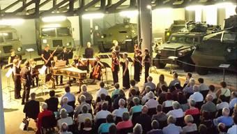 Im Militärmuseum Full-Reuenthal sorgte das Barockorchester Capriccio für einen gelungenen Abend.