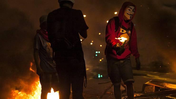 Bei erneuten Protesten gegen die sozialistische Regierung in Venezuela sind vier Personen ums Leben gekommen. (Archivbild)