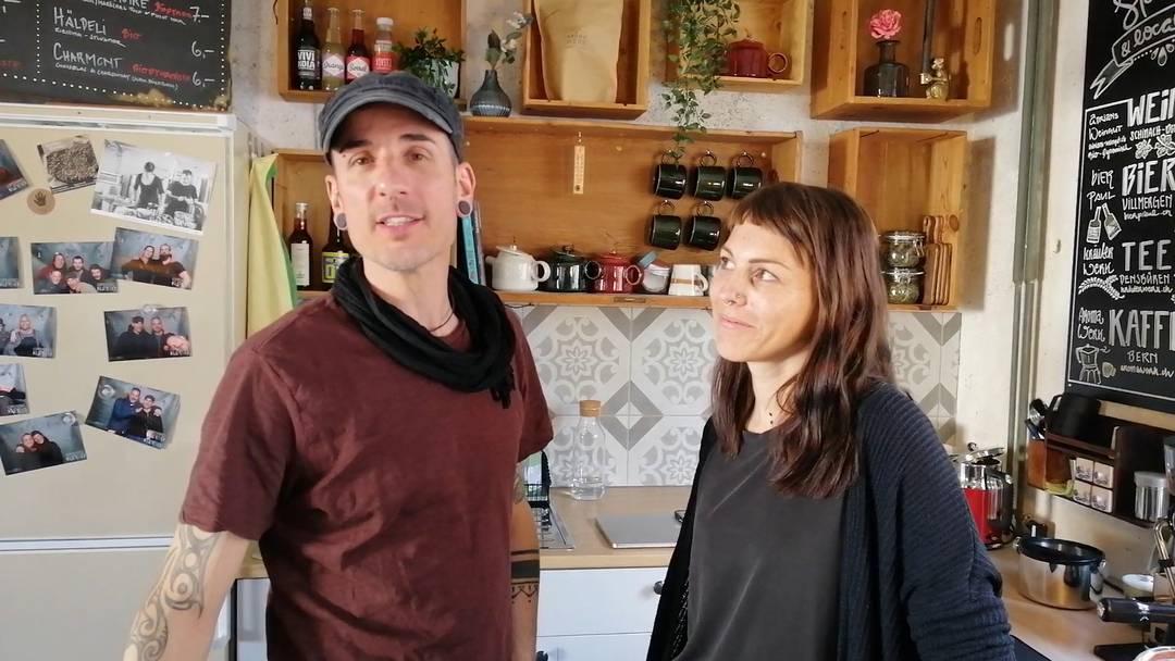 Sybel Stadelmann und Marco Hagenbuch in ihrer «Küferei» in Schinznach-Dorf